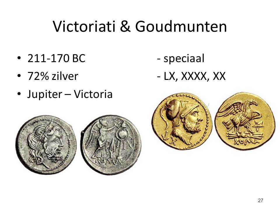 Victoriati & Goudmunten