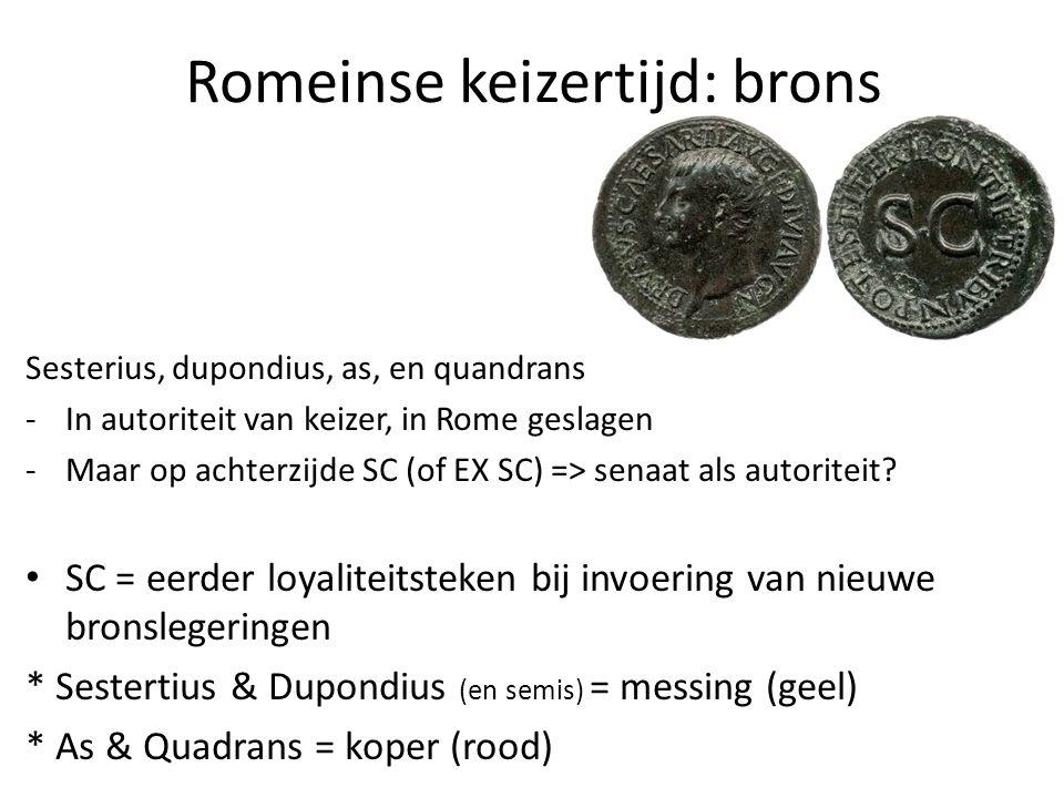 Romeinse keizertijd: brons