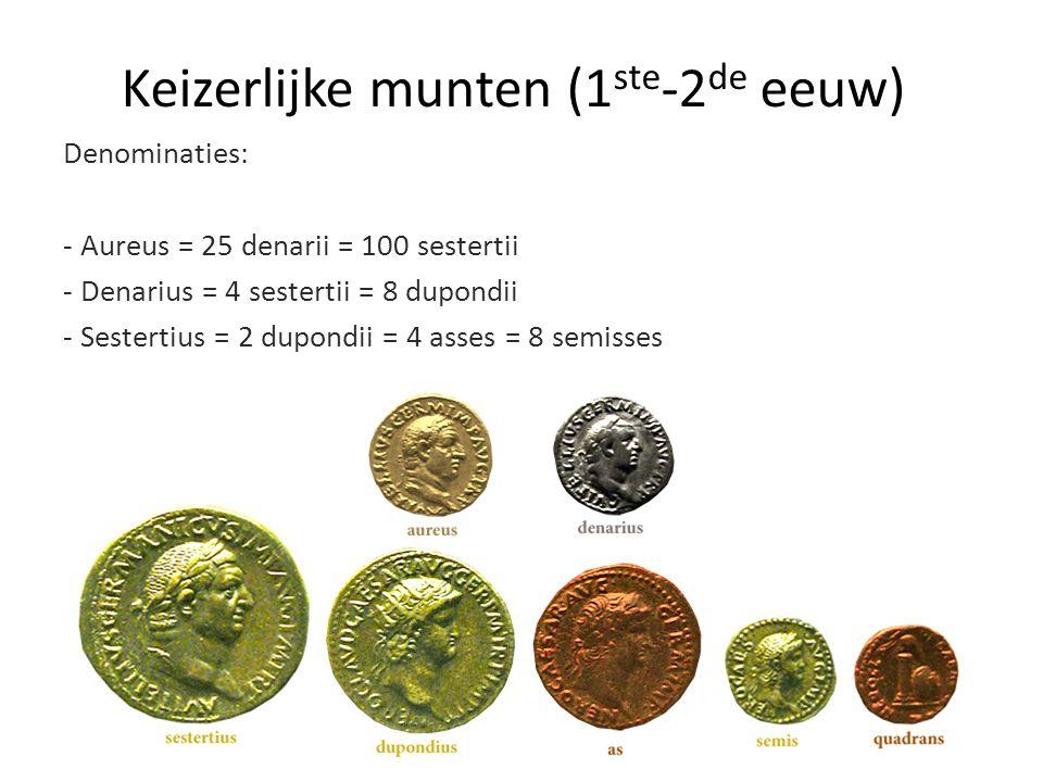 Keizerlijke munten (1ste-2de eeuw)