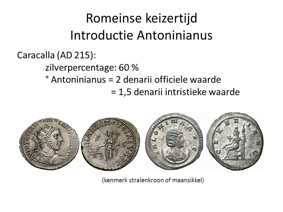 Romeinse keizertijd Introductie Antoninianus