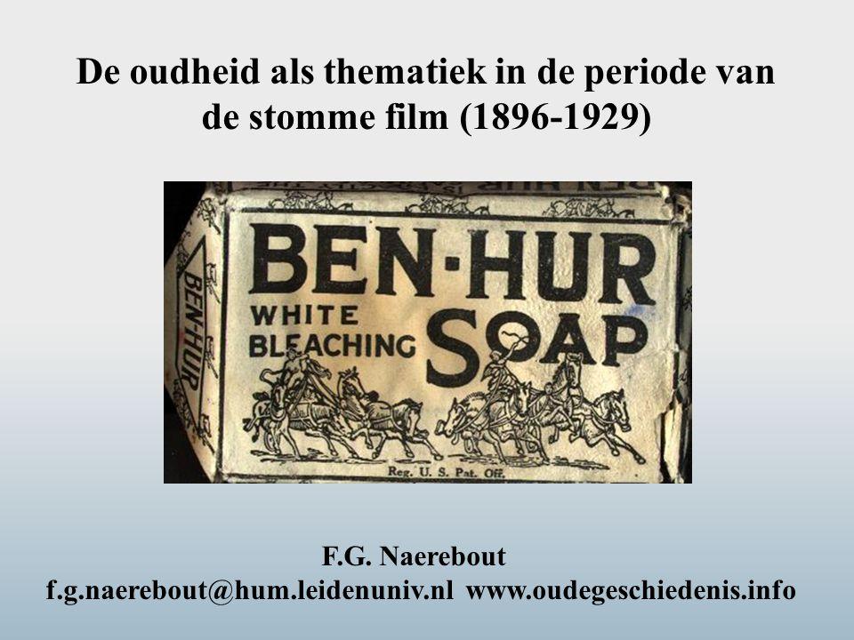 De oudheid als thematiek in de periode van de stomme film (1896-1929)