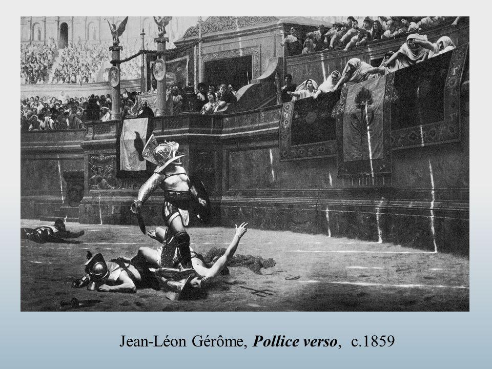 Jean-Léon Gérôme, Pollice verso, c.1859