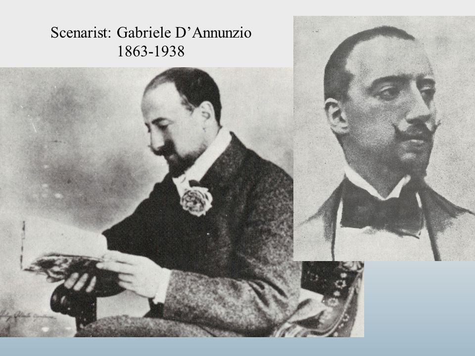 Scenarist: Gabriele D'Annunzio