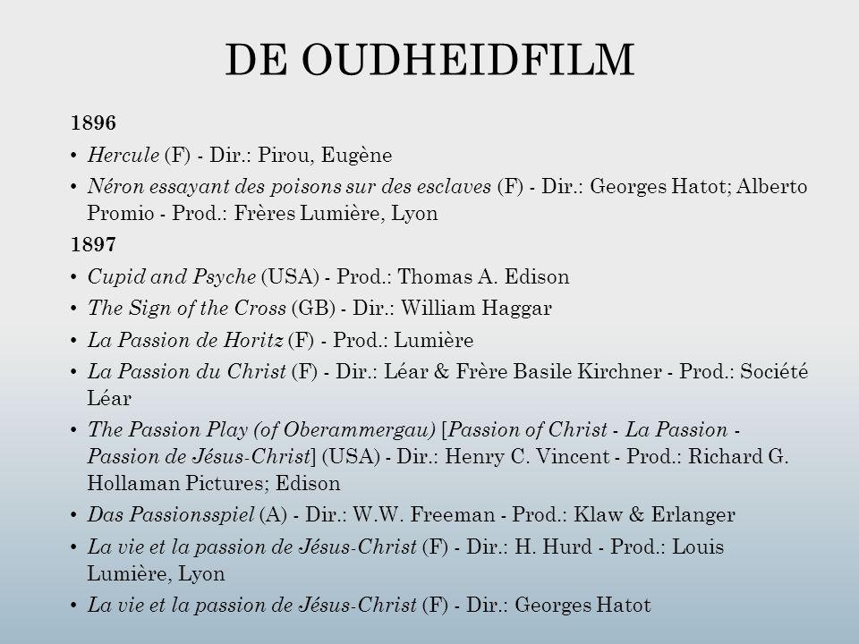 DE OUDHEIDFILM 1896 Hercule (F) - Dir.: Pirou, Eugène
