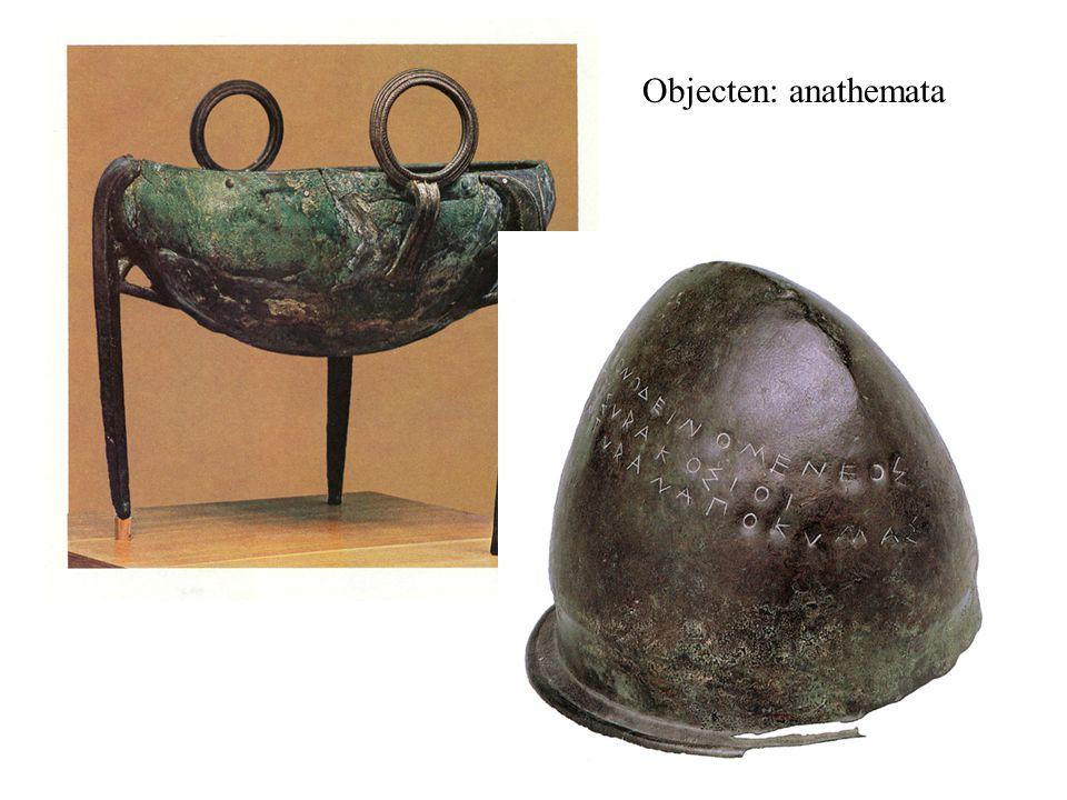 Objecten: anathemata