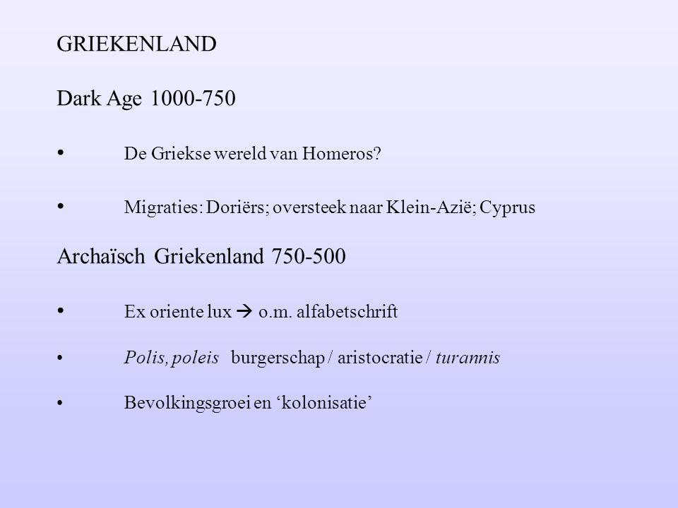 De Griekse wereld van Homeros