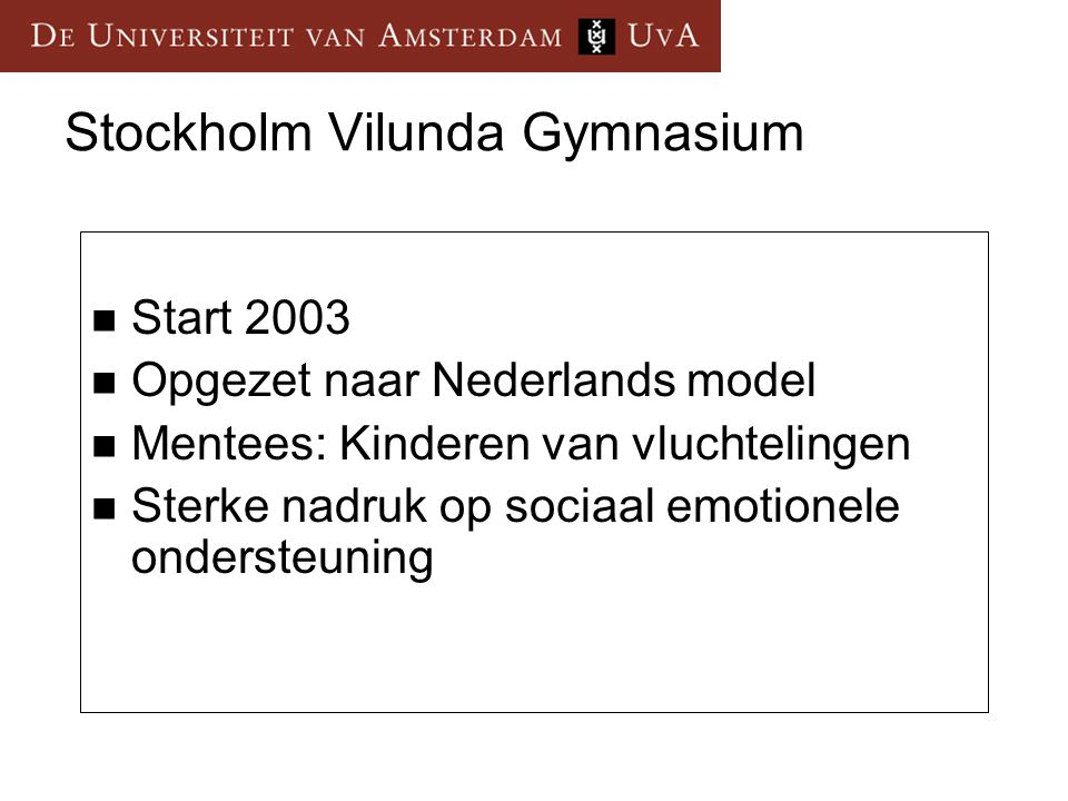 Stockholm Vilunda Gymnasium