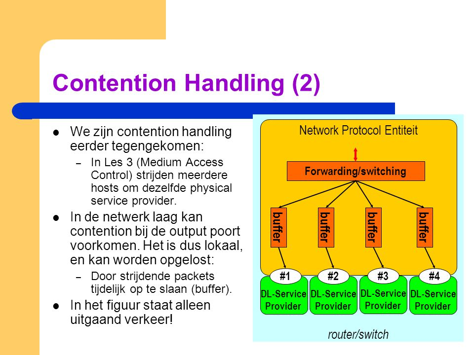 Contention Handling (2)