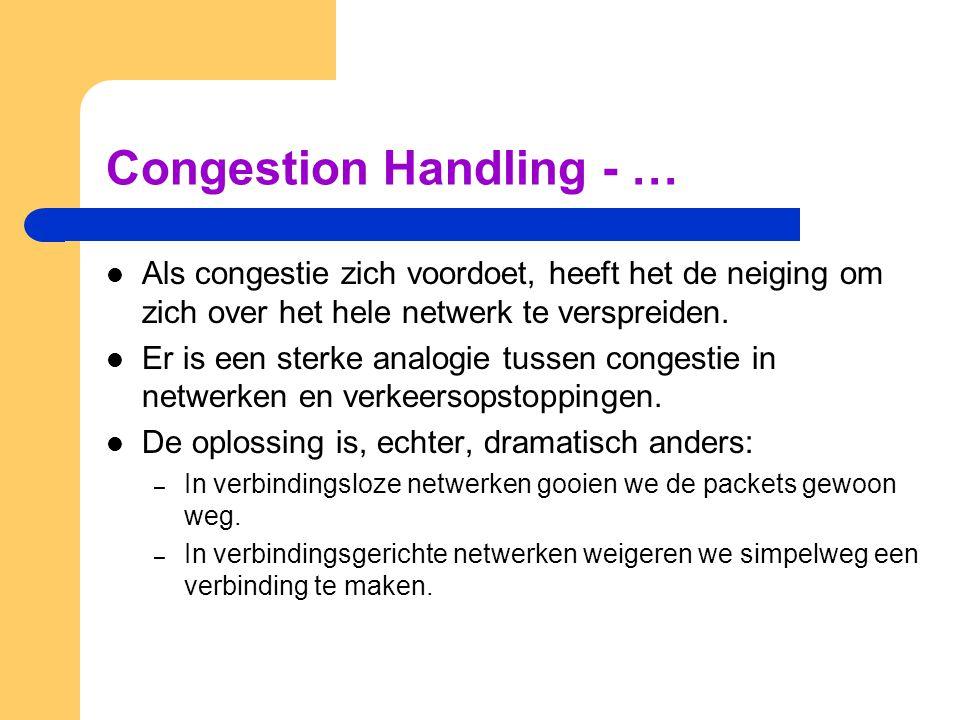 Congestion Handling - …