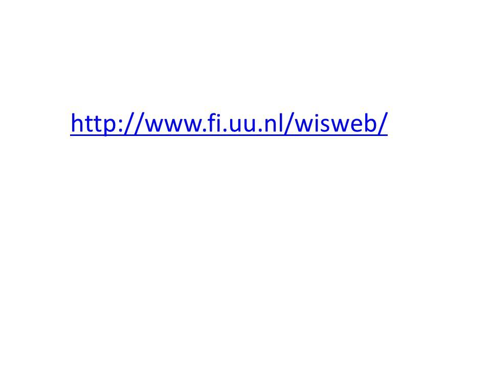 http://www.fi.uu.nl/wisweb/