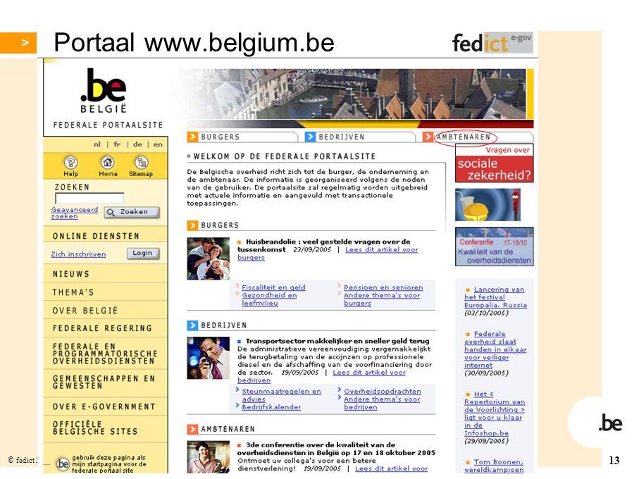 Portaal www.belgium.be
