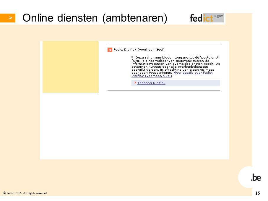 Online diensten (ambtenaren)