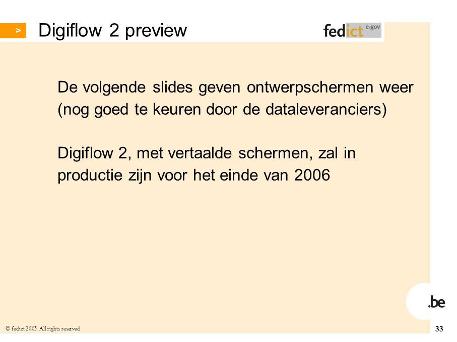Digiflow 2 preview De volgende slides geven ontwerpschermen weer
