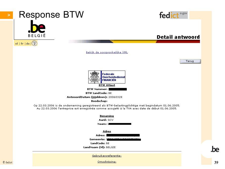 Response BTW