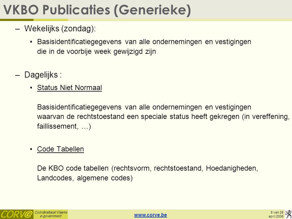 VKBO Publicaties (Generieke)