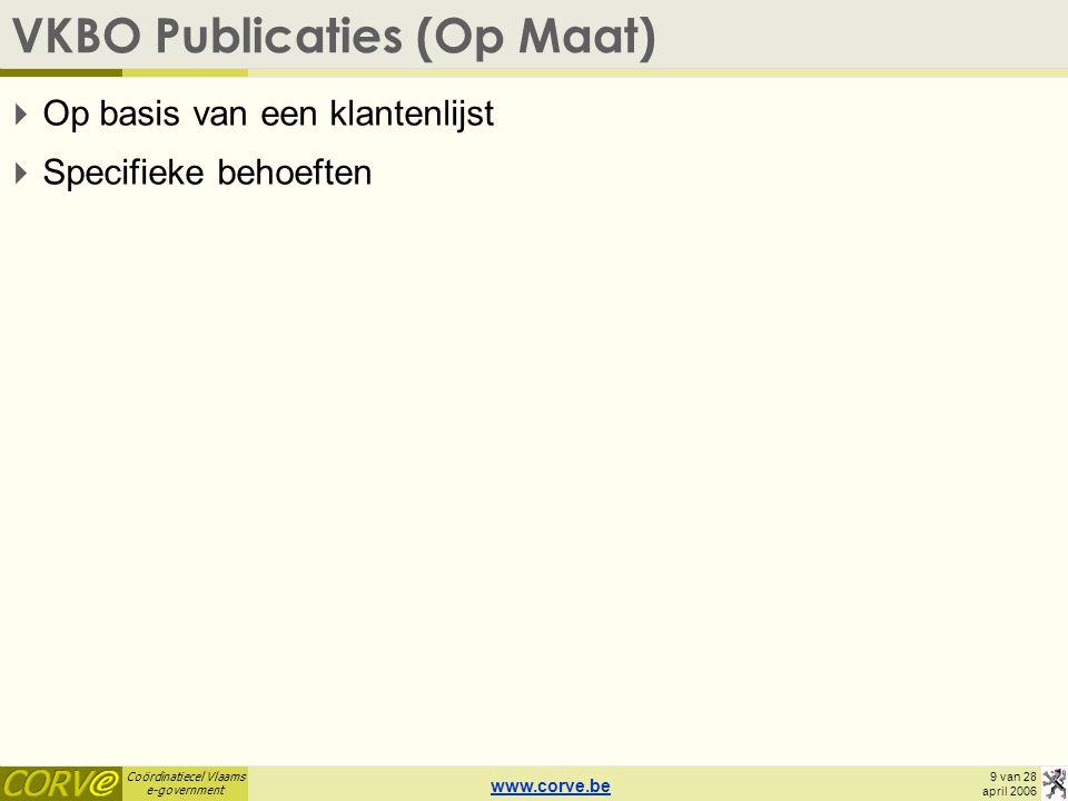 VKBO Publicaties (Op Maat)