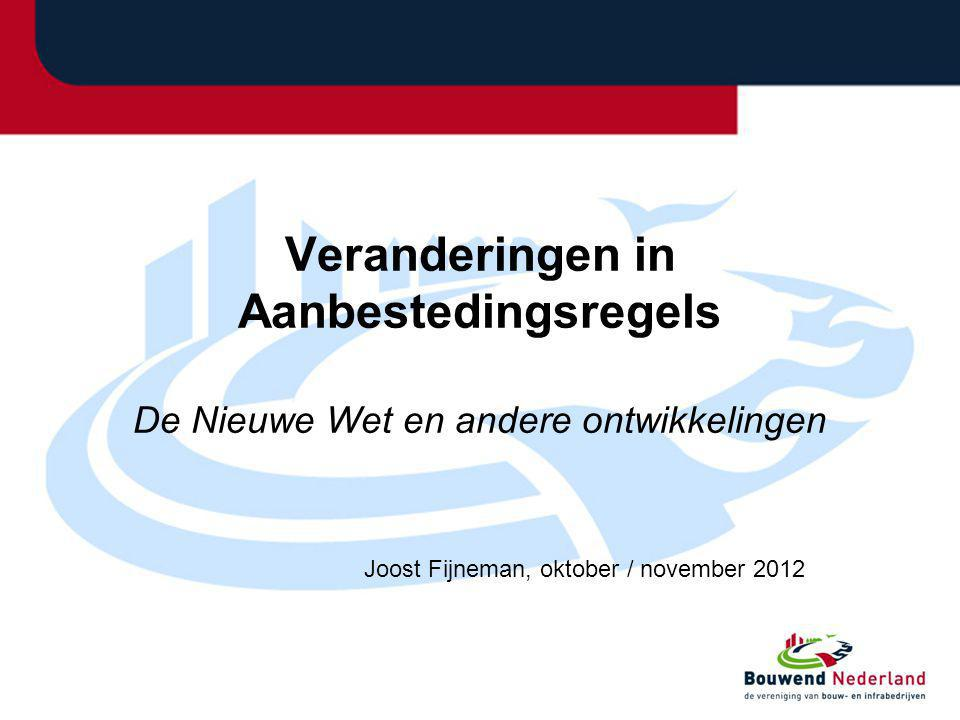 Joost Fijneman, oktober / november 2012