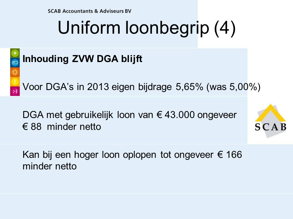 Uniform loonbegrip (4)