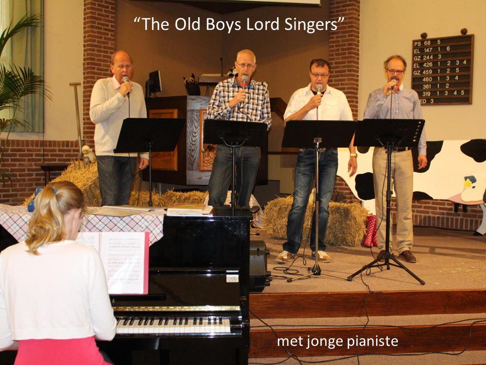 The Old Boys Lord Singers