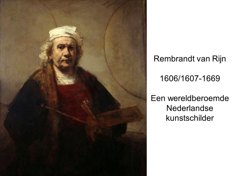 Een wereldberoemde Nederlandse kunstschilder
