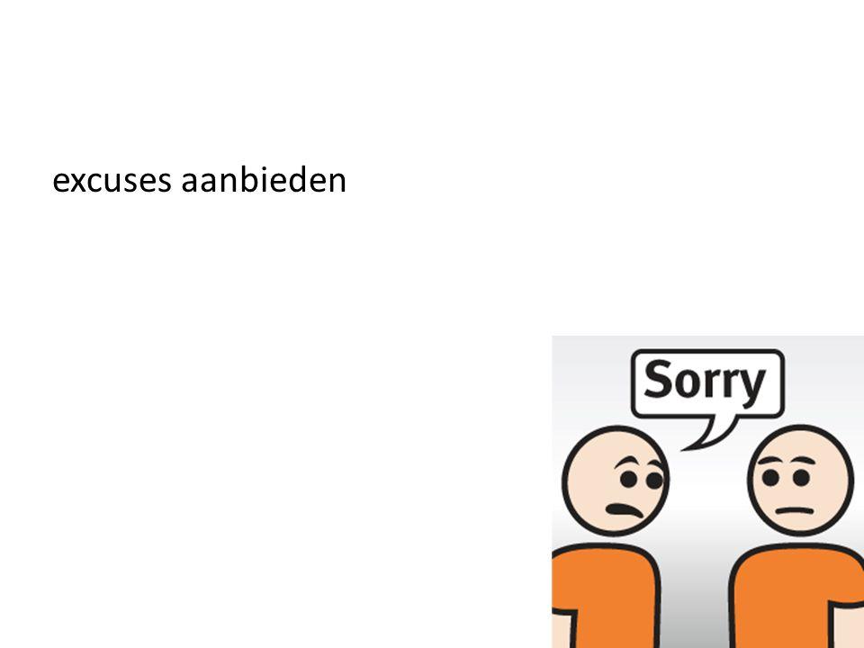 excuses aanbieden