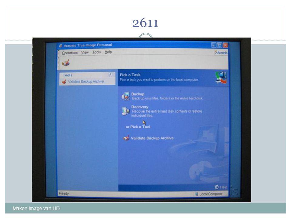 2611 Maken Image van HD