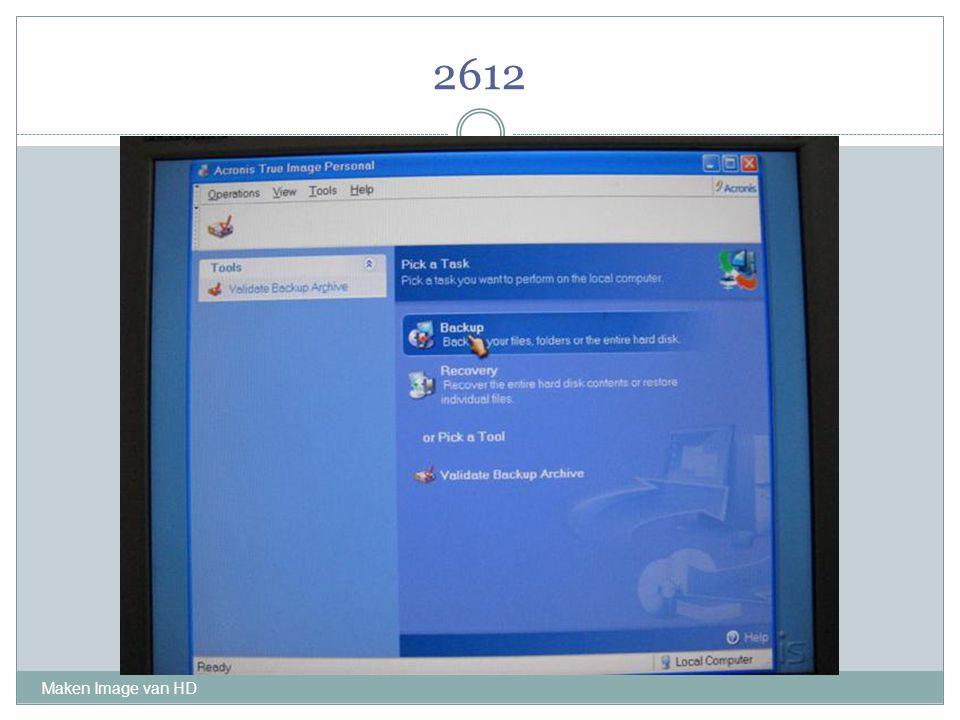 2612 Maken Image van HD