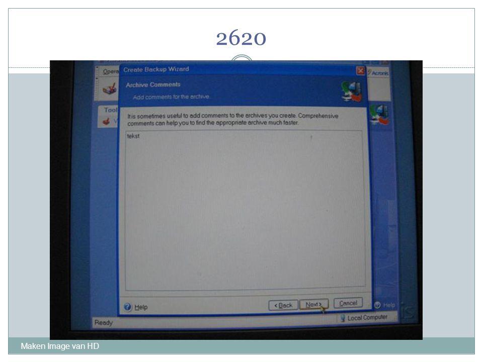 2620 Maken Image van HD