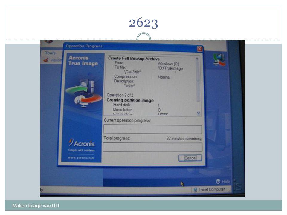 2623 Maken Image van HD