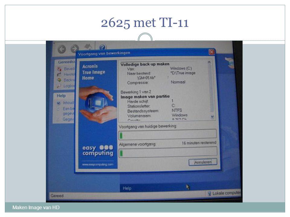 2625 met TI-11 Maken Image van HD