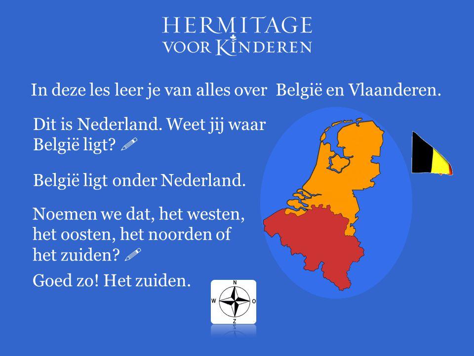 In deze les leer je van alles over België en Vlaanderen.