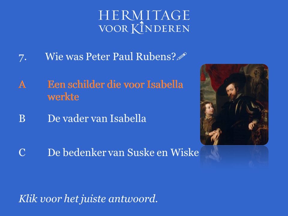 7. Wie was Peter Paul Rubens 