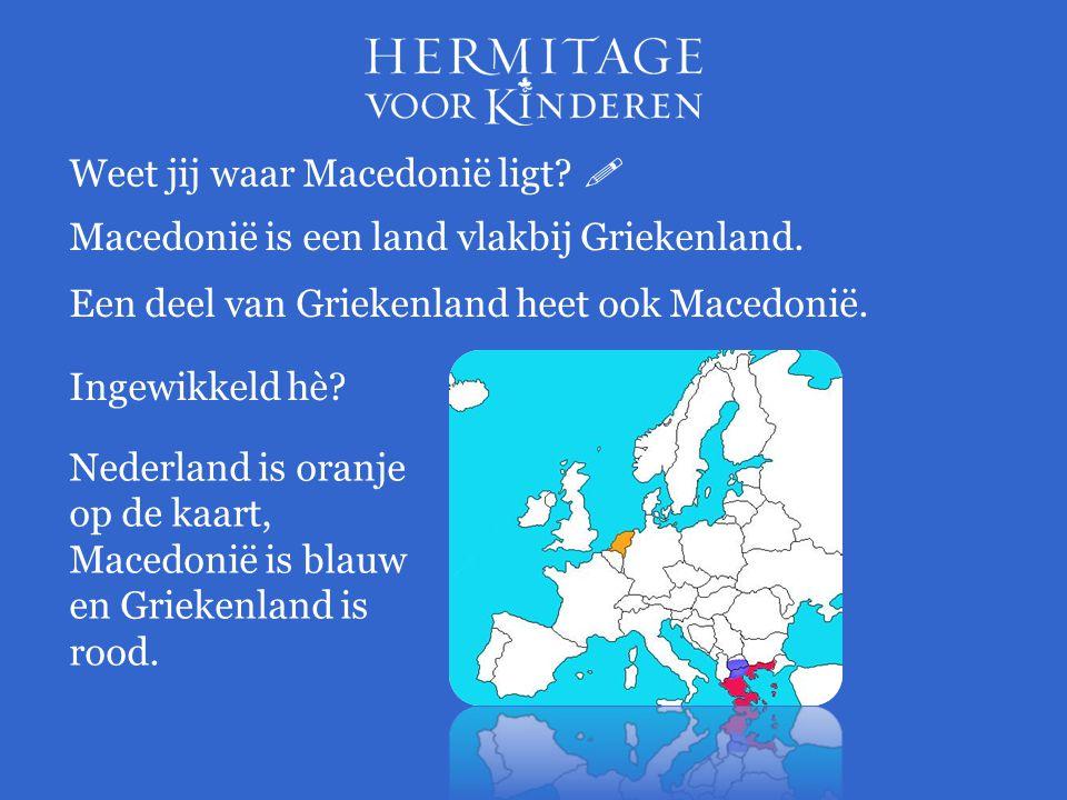Weet jij waar Macedonië ligt 