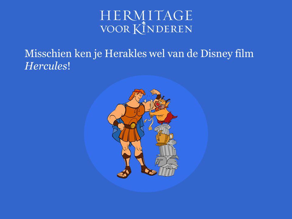 Misschien ken je Herakles wel van de Disney film Hercules!