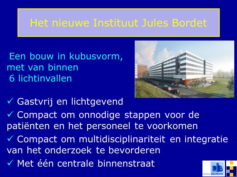 Het nieuwe Instituut Jules Bordet