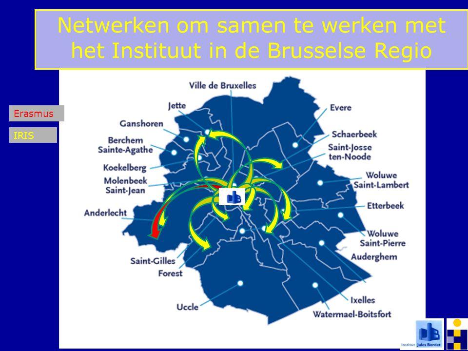 Netwerken om samen te werken met het Instituut in de Brusselse Regio