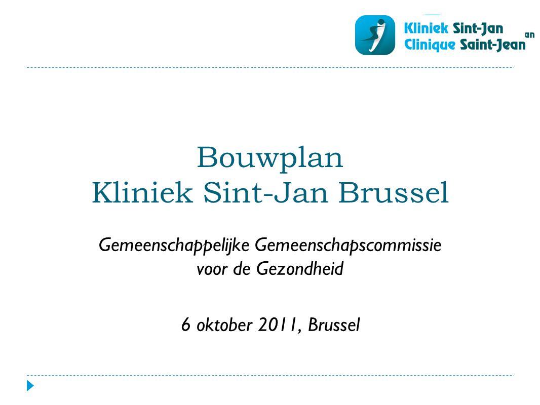 Bouwplan Kliniek Sint-Jan Brussel