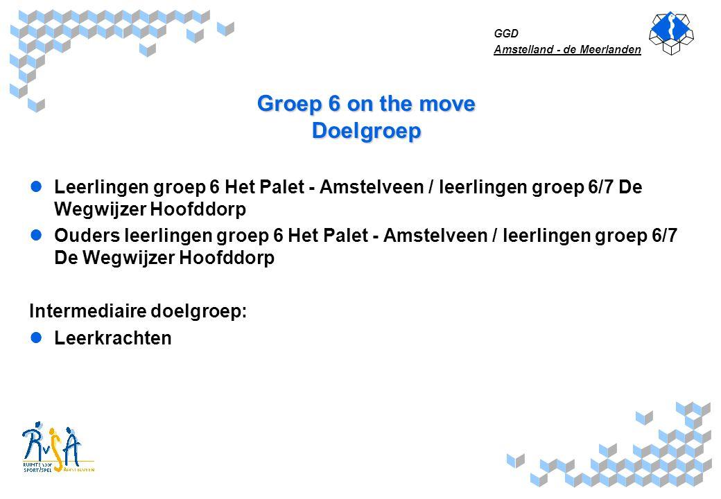 Groep 6 on the move Doelgroep
