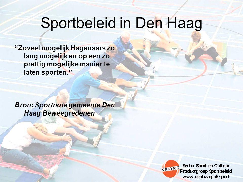Sportbeleid in Den Haag