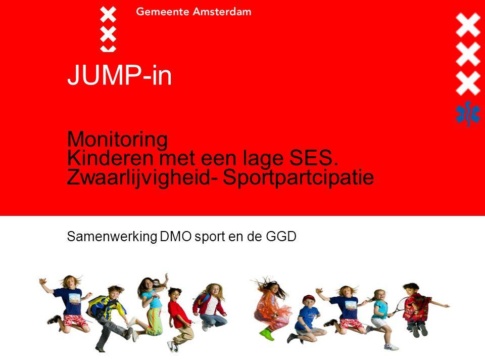 JUMP-in Monitoring Kinderen met een lage SES.