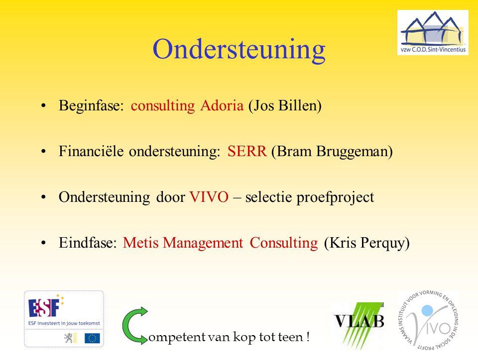 Ondersteuning Beginfase: consulting Adoria (Jos Billen)