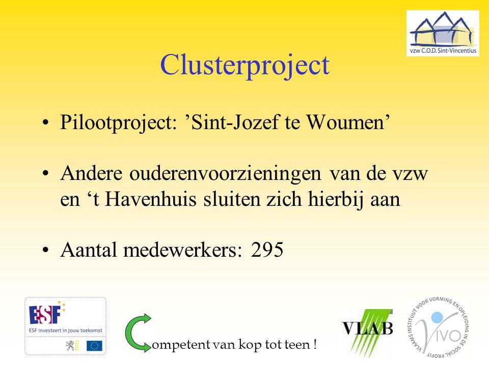 Clusterproject Pilootproject: 'Sint-Jozef te Woumen'