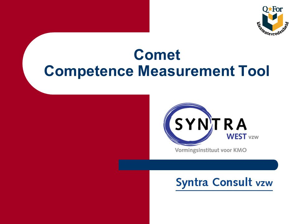 Comet Competence Measurement Tool