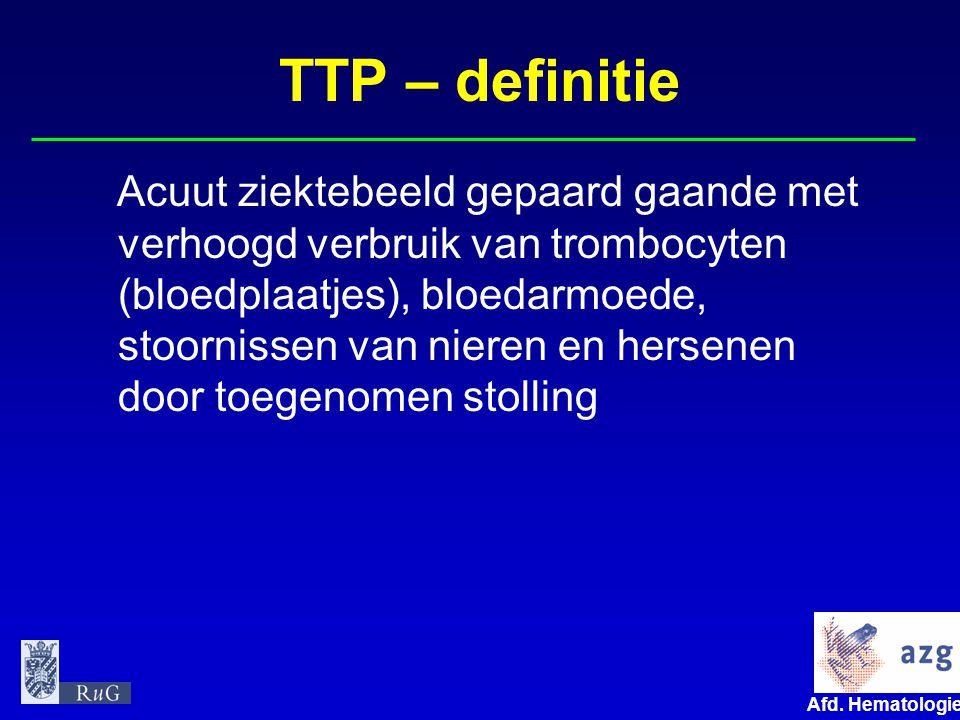 TTP – definitie