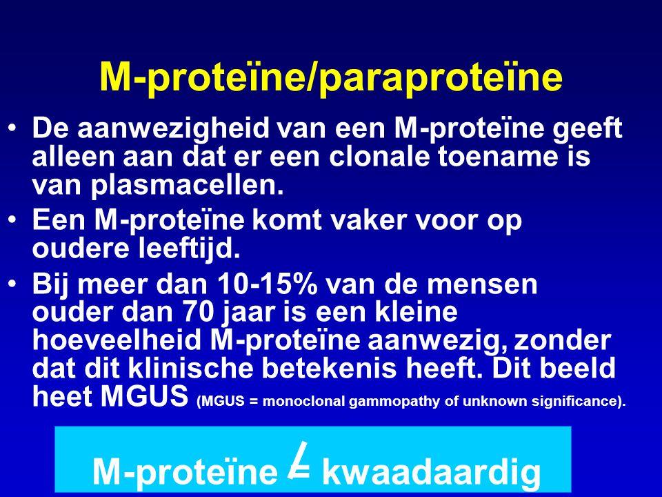 M-proteïne/paraproteïne