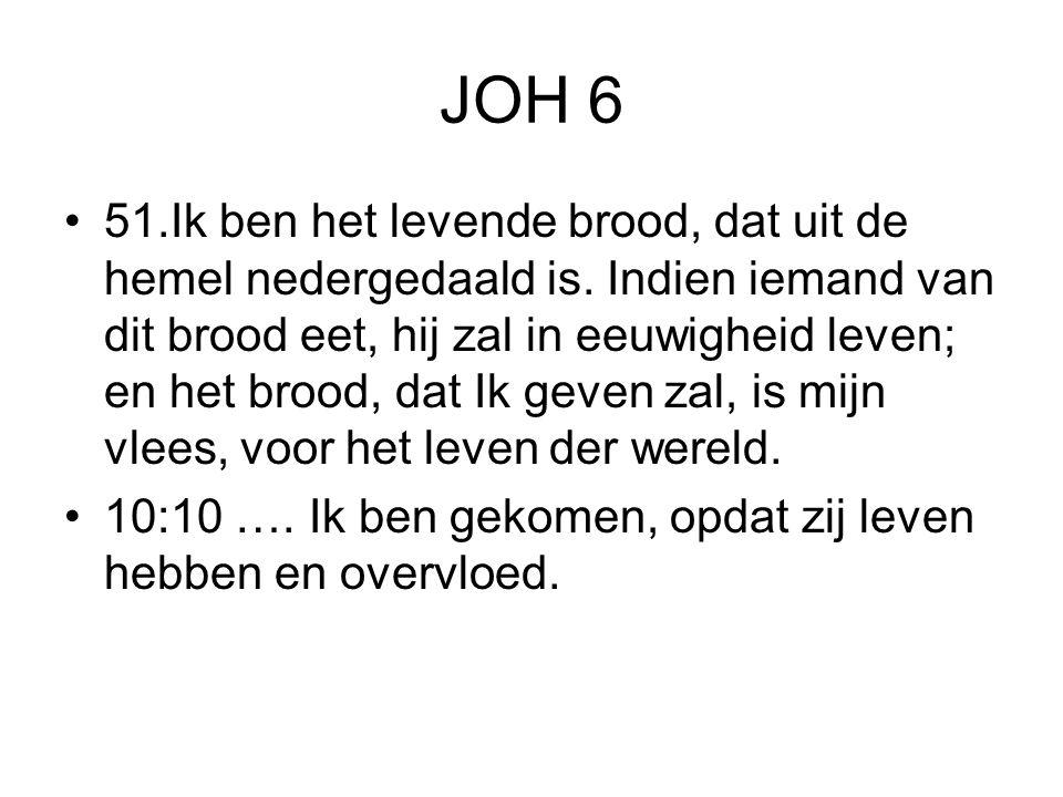 JOH 6