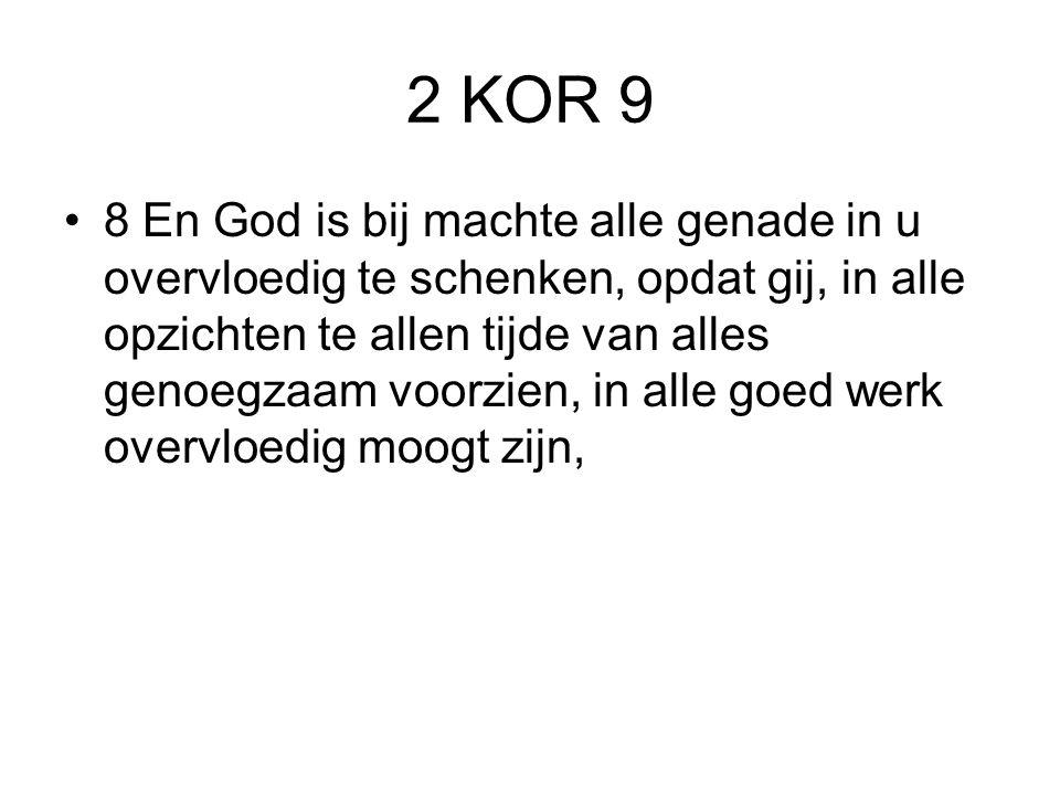 2 KOR 9
