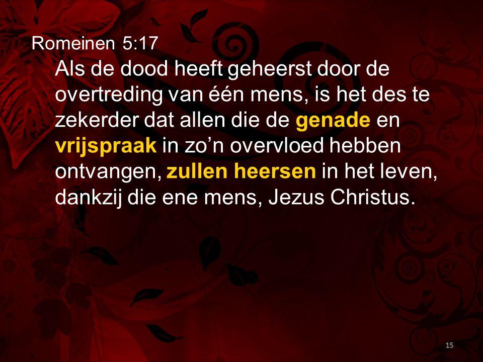 Romeinen 5:17