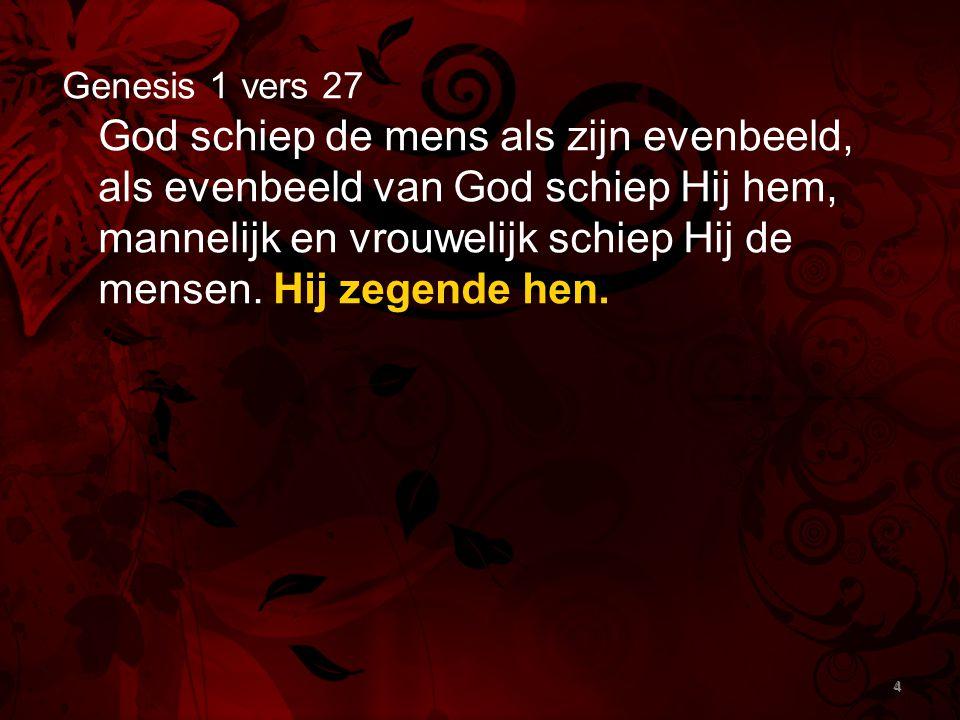 Genesis 1 vers 27