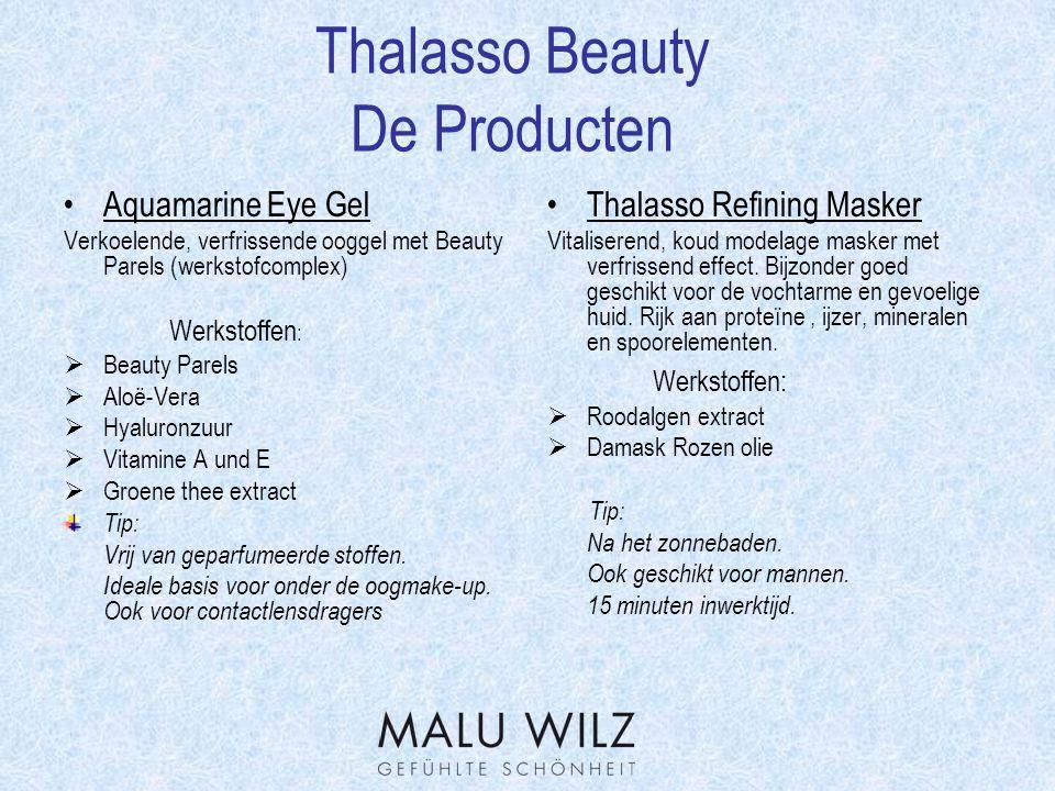 Thalasso Beauty De Producten